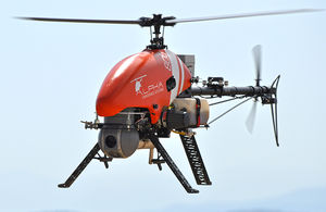 drone helicoptere