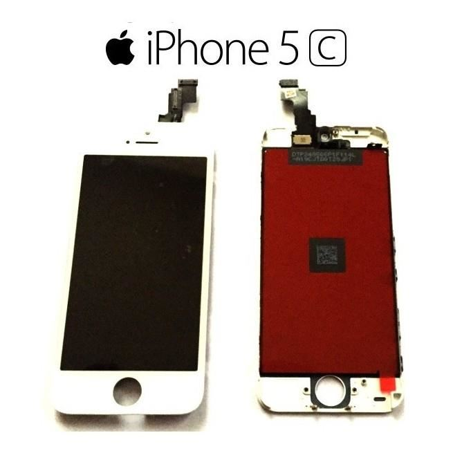 ecran iphone 5c blanc