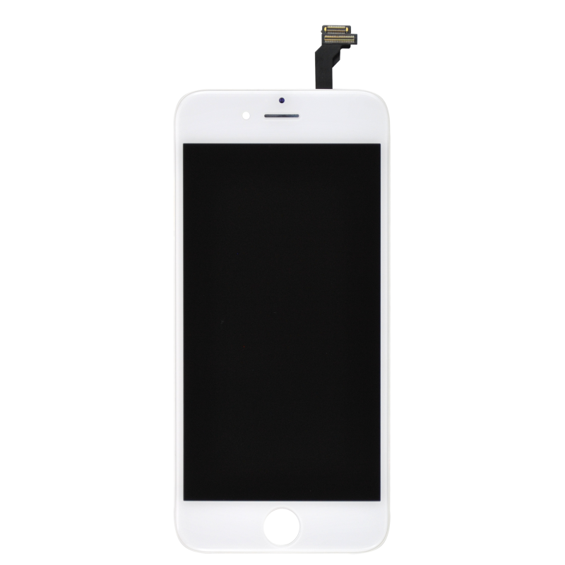 ecran iphone blanc